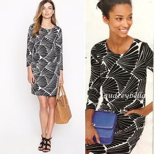 J. Crew Jules Dress in Fanfare